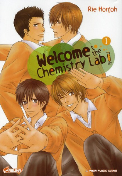 Couverture welcome to the chemistry lab tome 1