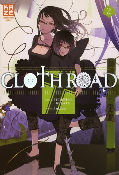 Couverture cloth road tome 2