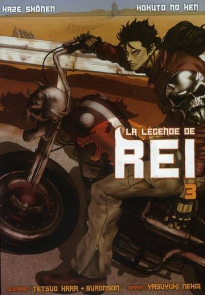 Couverture Hokuto no Ken : la légende de Rei tome 3