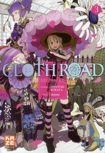 Couverture cloth road tome 3