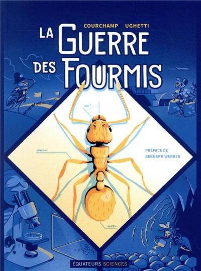 Couverture La guerre des fourmis