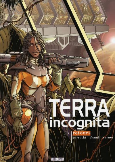 Couverture terra incognita tome 3 - retours