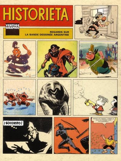 image de historieta ; regards sur la bande dessinée argentine