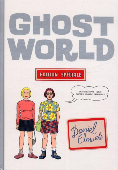 Couverture ghost world édition speciale