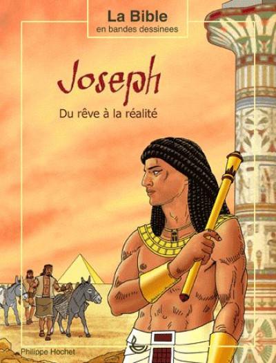 Couverture Joseph, du rêve à la réalité