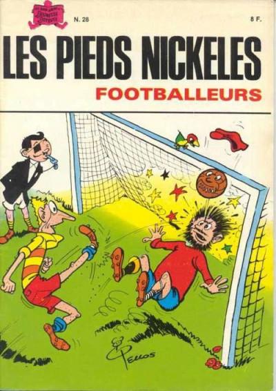Couverture Les Pieds Nickelés (3e série) (1946-1988) tome 28 - Les pieds nickelés footballeurs