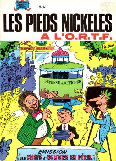 Couverture Les Pieds Nickelés (3e série) (1946-1988) tome 62 - Les Pieds Nickelés à l'O.R.T.F.