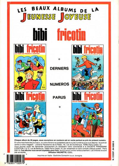 Dos Les Pieds Nickelés (3e série) (1946-1988) tome 62 - Les Pieds Nickelés à l'O.R.T.F.