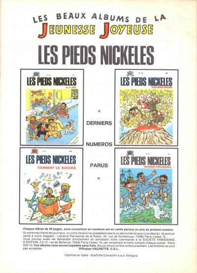 Page 1 Les Pieds Nickelés (3e série) (1946-1988) tome 62 - Les Pieds Nickelés à l'O.R.T.F.