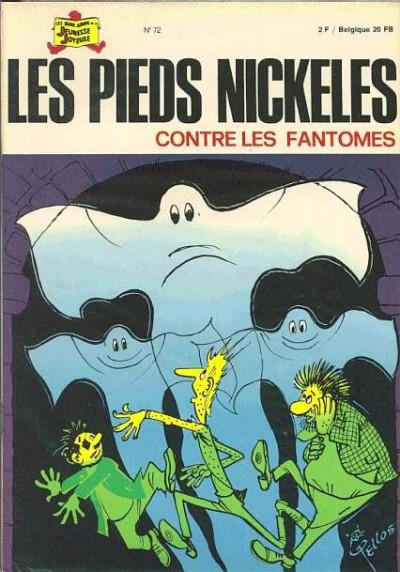 Couverture Les Pieds Nickelés (3e série) (1946-1988) tome 72 - Les Pieds Nickelés contre les fantômes