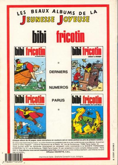 Dos Les Pieds Nickelés (3e série) (1946-1988) tome 72 - Les Pieds Nickelés contre les fantômes
