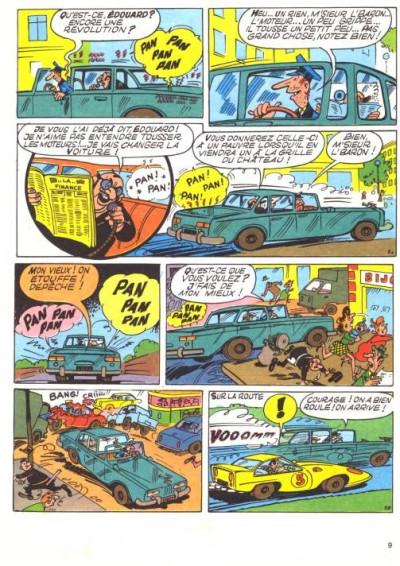 Page 1 Les Pieds Nickelés (3e série) (1946-1988) tome 72 - Les Pieds Nickelés contre les fantômes