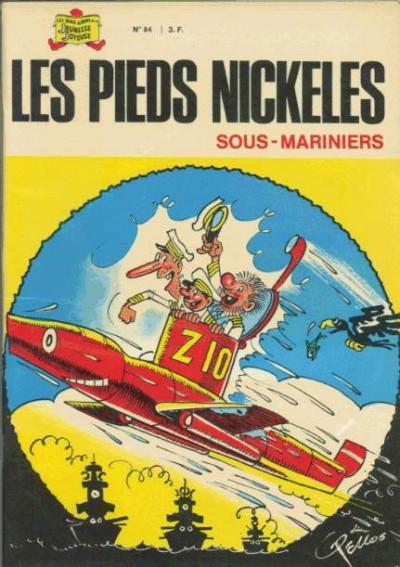 Couverture Les Pieds Nickelés (3e série) (1946-1988) tome 84 - Les Pieds Nickelés sous-mariniers