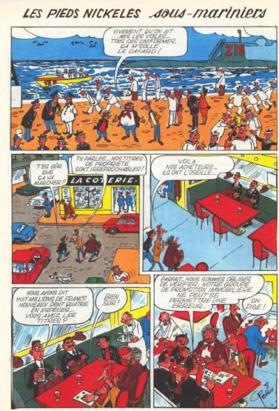 Page 1 Les Pieds Nickelés (3e série) (1946-1988) tome 84 - Les Pieds Nickelés sous-mariniers