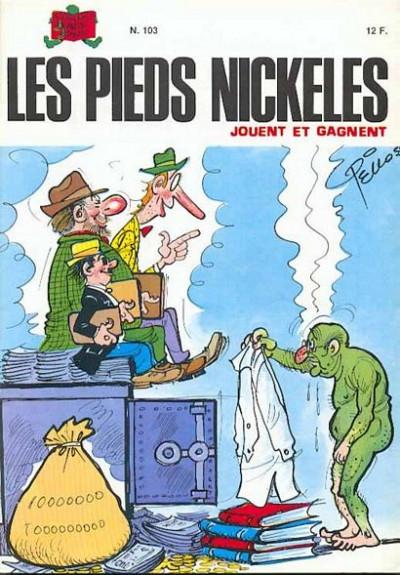 Couverture Les Pieds Nickelés (3e série) (1946-1988) tome 103 - Les Pieds Nickelés jouent et gagnent