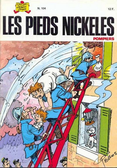 Couverture Les Pieds Nickelés (3e série) (1946-1988) tome 104 - Les Pieds Nickelés pompiers