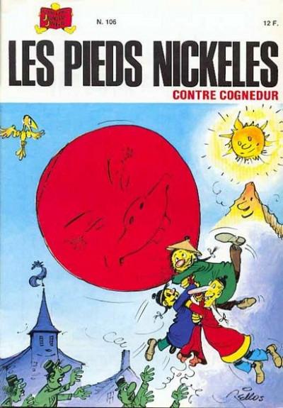 Couverture Les Pieds Nickelés (3e série) (1946-1988) tome 106 - Les Pieds Nickelés contre Cognedur