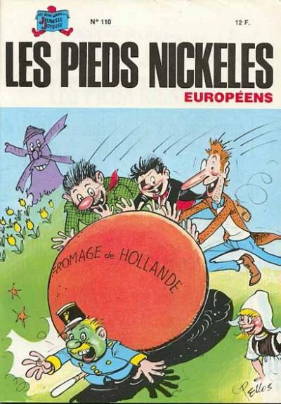 Couverture Les Pieds Nickelés (3e série) (1946-1988) tome 110 - Les Pieds Nickelés européens