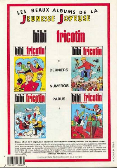 Dos Les Pieds Nickelés (3e série) (1946-1988) tome 110 - Les Pieds Nickelés européens