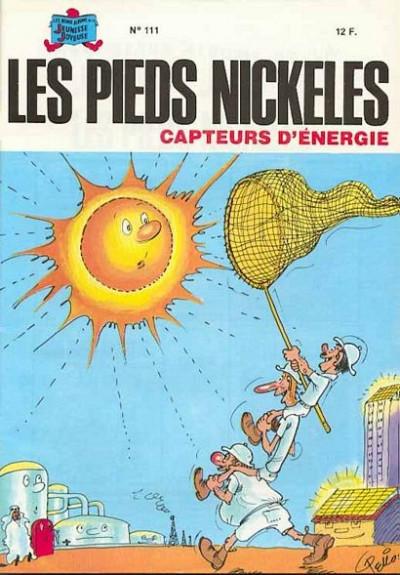 Couverture Les Pieds Nickelés (3e série) (1946-1988) tome 111 - Les Pieds Nickelés capteurs d'énergie
