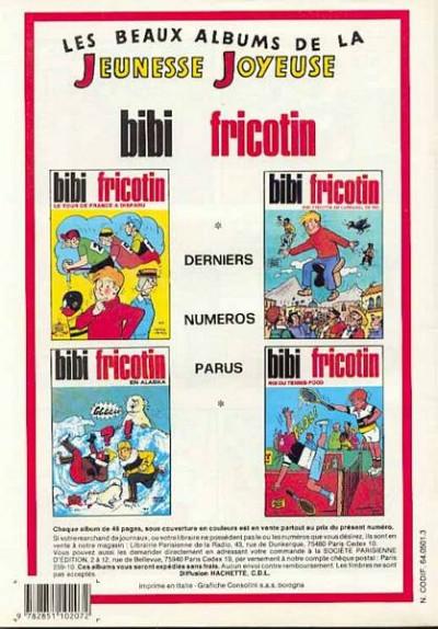 Dos Les Pieds Nickelés (3e série) (1946-1988) tome 111 - Les Pieds Nickelés capteurs d'énergie