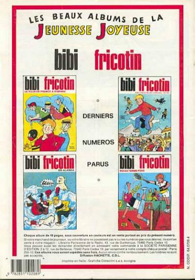 Dos Les Pieds Nickelés (3e série) (1946-1988) tome 113 - Les Pieds Nickelés et le raid Paris-Tombouctou