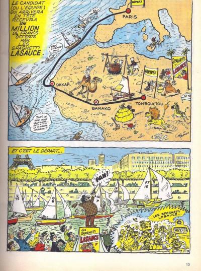 Page 2 Les Pieds Nickelés (3e série) (1946-1988) tome 113 - Les Pieds Nickelés et le raid Paris-Tombouctou