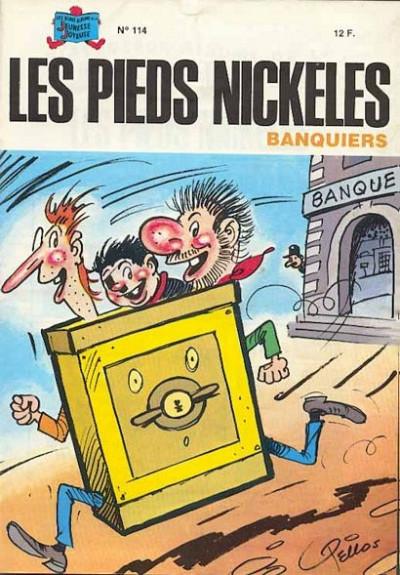 Couverture Les Pieds Nickelés (3e série) (1946-1988) tome 114 - Les Pieds Nickelés banquiers