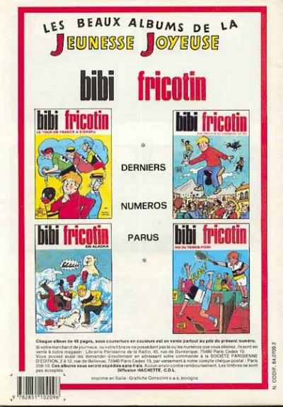 Dos Les Pieds Nickelés (3e série) (1946-1988) tome 114 - Les Pieds Nickelés banquiers