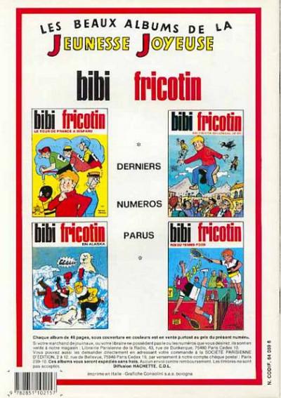 Dos Les Pieds Nickelés (3e série) (1946-1988) tome 118 - Les Pieds Nickelés toubibs de nuit