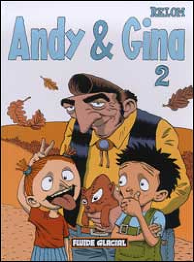 Couverture andy et gina tome 2