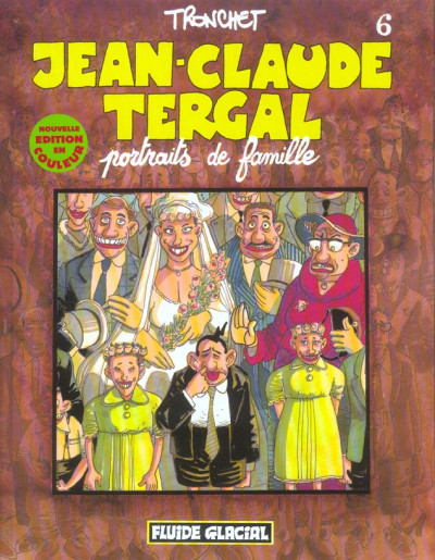 image de jean-claude tergal tome 6 - portraits de famille
