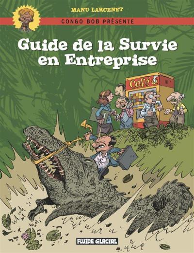 Couverture guide de survie en entreprise