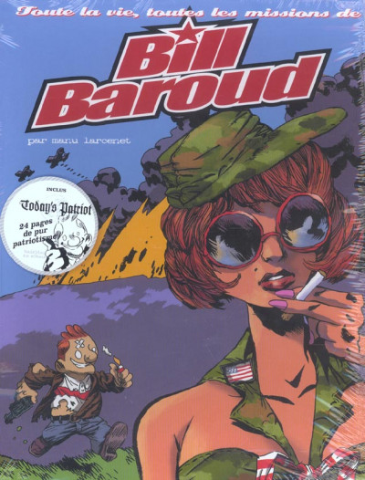 Couverture Bill baroud - coffret tome 1 à tome 4