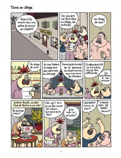 Page 4 titine au bistrot tome 2 - délire total !