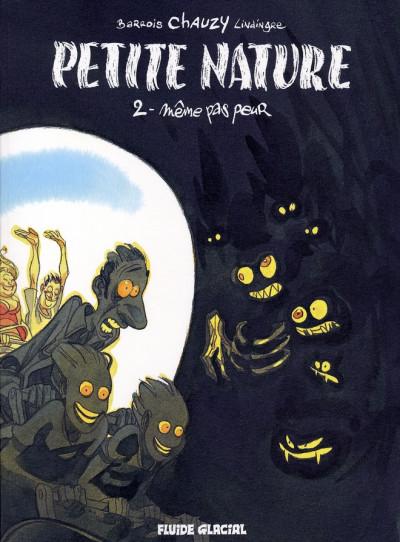 Couverture petite nature tome 2 - même pas peur