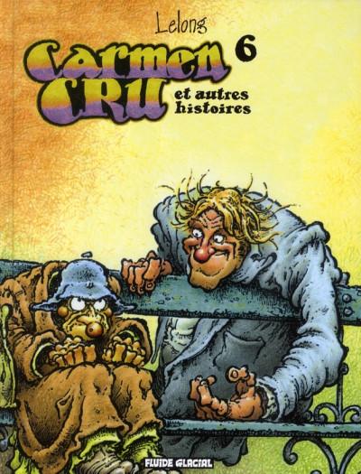 Couverture carmen cru tome 6 - et autres histoires