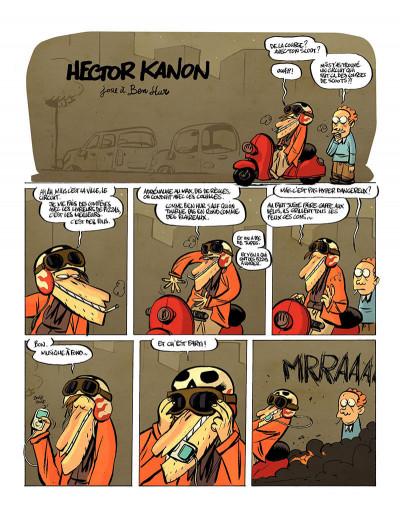 Page 4 hector kanon tome 2 - un scooter dans la mâchoire