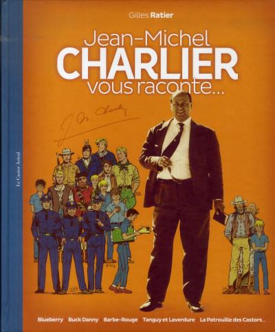 Couverture Jean-Michel Charlier vous raconte...