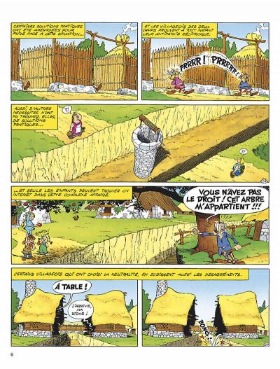 Page 9 astérix tome 25 - le grand fossé