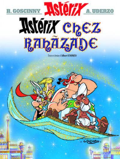 Couverture astérix tome 28 - astérix chez rahazade