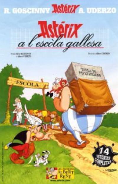 Page 2 Asterix a l'escòla gallesa