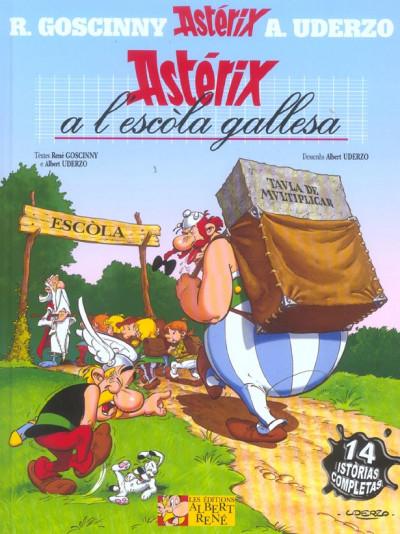 Couverture Asterix a l'escòla gallesa