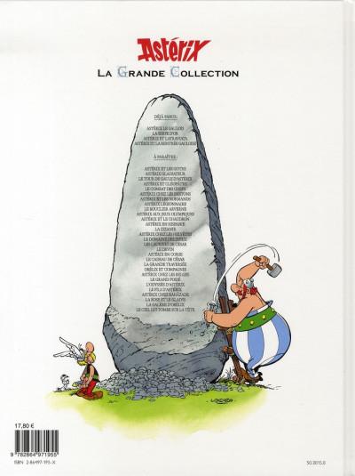 Dos astérix tome 31 grande collection - astérix et la traviata