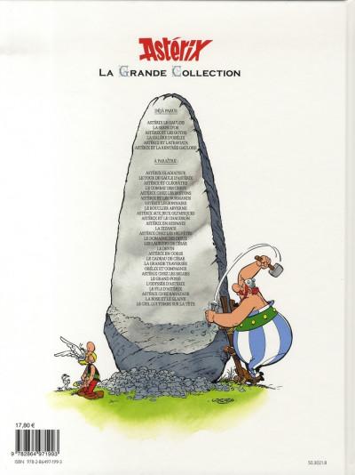 Dos astérix tome 30 grande collection - la galère d'obélix