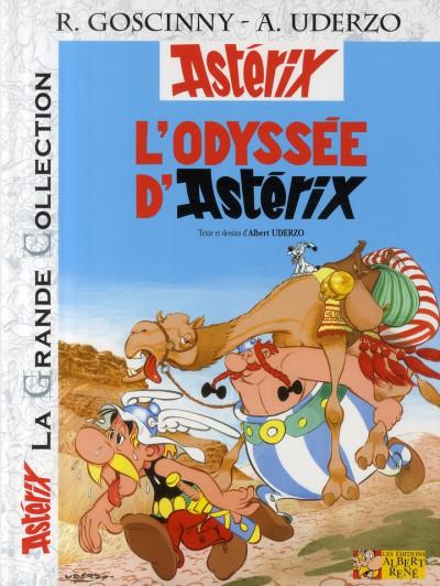 Couverture astérix tome 26 grande collection - l'odyssée d'astérix