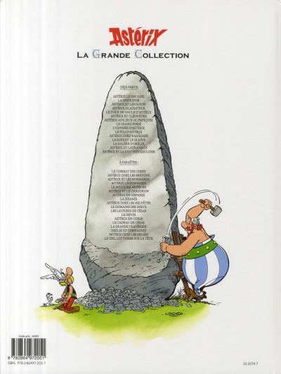 Dos astérix tome 26 grande collection - l'odyssée d'astérix