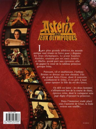 Dos astérix ; aux jeux olympiques ; l'album du film