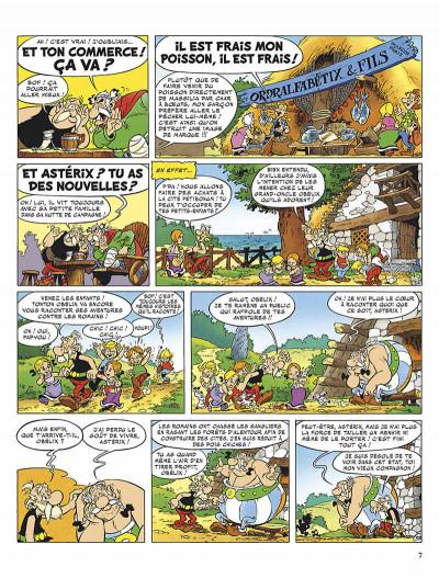 Page 0 astérix tome 34 - l'anniversaire d'astérix et obélix - le livre d'or