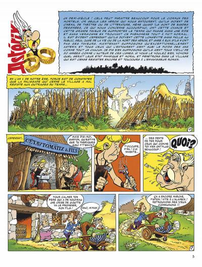 Page 8 astérix tome 34 - l'anniversaire d'astérix et obélix - le livre d'or